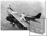 Tennis on a Plane, 1925 Kunst av Scherl Süddeutsche Zeitung Photo