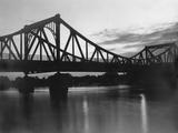 The Glienicke Bridge in Potsdam, 1934 Photographic Print by Scherl Süddeutsche Zeitung Photo
