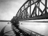 Bridge over Euphrates, 1939 Photographic Print by Scherl Süddeutsche Zeitung Photo