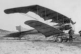 """""""Mars"""" Pfeil-Doubledecker Built by Dfw at the Berlin Flight Week, 1913 Photographic Print by Scherl Süddeutsche Zeitung Photo"""
