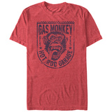Gas Monkey- Hot Rod Monkey Badge T-Shirt