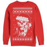 Crewneck Sweatshirt: Star Wars- Festive Chewy Holiday Sweater T-Shirt