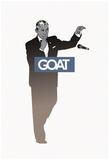 Goat POTUS - Mic Drop Sillhouette Billeder