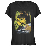 Juniors: Disney: Little Mermaid- Classic Poster Tshirt