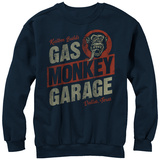 Crewneck Sweatshirt: Gas Monkey- Distressed Kustom Builds T-shirts
