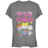 Juniors: Rugrats- Angelica Wild Child T-Shirt