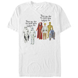 Star Wars- Classic Action Figure Influence T-shirts