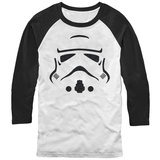 Long Sleeve: Star Wars- Storm Trooper Facade (Raglan) Raglans