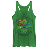 Juniors Tank Top: Teenage Mutant Ninja Turtles- Heroes Since 84 Scoop Neck Shirt