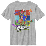 Youth: Nintendo- Splatoon- Action Panels T-Shirt