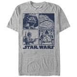 Star Wars- Baddies Panels T-shirts