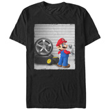 Super Marios Bros- Mario Garage Shirt