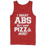 Tank Top: Pizza Abs Trägerhemd