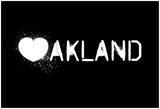 Oakland, I Love You Prints