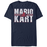 Super Marios Bros- Racer Overlay T-skjorter