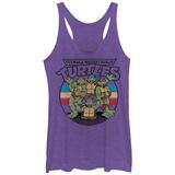 Juniors Tank Top: Teenage Mutant Ninja Turtles- Raf, Weekend Warrior Scoop Neck Bluse