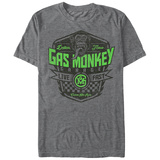 Gas Monkey- Live Fast Shield Shirts
