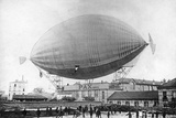 "Moored Balloon ""Pax"" with M. Severo before the Disaster in Paris, 1902 Photographic Print by Scherl Süddeutsche Zeitung Photo"