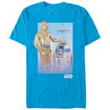 Star Wars- Droids Visit Bespin T-Shirt