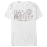 Gas Monkey- Faded Monkey Logo T-Shirt