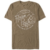 Twin Peaks- Vintage Travel Button T-Shirts