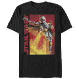 Star Wars- Fett Air Assault T-shirts