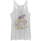 Juniors Tank Top: Disney: Sleeping Beauty- Aurora Classic Beauty Scoop Neck Womens Tank Tops