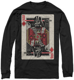 Long Sleeve: Star Wars- Darth Vader Face Card T-shirts