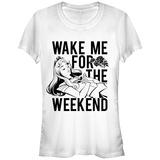 Juniors: Disney: Sleeping Beauty- Wake Aurora For The Weeknd T-Shirts