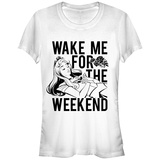 Juniors: Disney: Sleeping Beauty- Wake Aurora For The Weeknd T-shirts