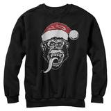 Crewneck Sweatshirt: Gas Monkey- Santa Monkey T-shirts