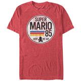 Super Marios Bros- Distressed Le Mans Button T-Shirts