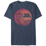 Star Wars- Bobba Button T-Shirt