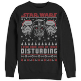 Crewneck Sweatshirt: Star Wars- Lack Of Cheer Holiday Sweater T-Shirt