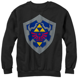 Crewneck Sweatshirt: Legend Of Zelda- Simple Shield T-Shirts