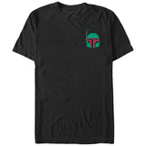 Star Wars- Boba Fett Pocket Icon T-shirts