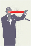 POTUS Obama Mic Drop Photographie