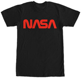 NASA- Red Classic Logo T-shirts