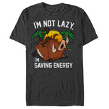 Disney: The Lion King- Pumbaa Saving Energy T-Shirt