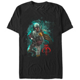 Star Wars- Fett Mandalorian Warrior T-Shirt