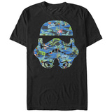 Star Wars- Tropical Trooper Helmet T-shirts