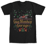 Gas Monkey- Holiday Knit Hot Rod T-shirts