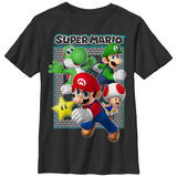 Youth: Super Marios Bros- Breakout Gang T-shirts