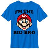 Youth: Super Marios Bros- The Big Bro T-Shirts