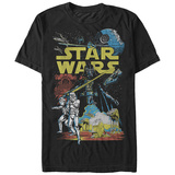 Star Wars- Classic Space & Ground Battles T-Shirt