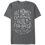 Gas Monkey- Built For Speed Shirts