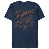 Gas Monkey- Flying Wheel Racing T-shirts