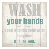 Wash Your Soul Posters by Kimberly Allen