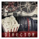 Director Poster by Jace Grey