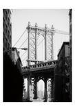 Manhattan Bridge 1 Print by Sonja Quintero
